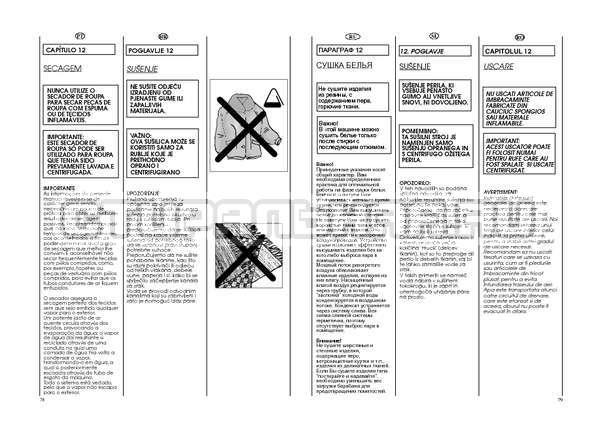 Инструкция Candy GO W264D страница №40