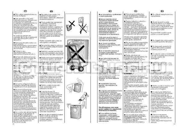 Инструкция Candy GO W264D страница №7