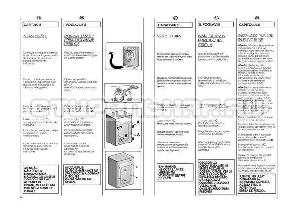 Инструкция Candy GO W264D страница №9
