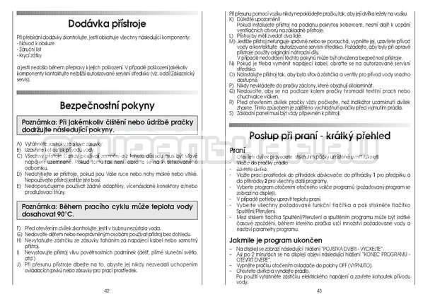 Инструкция Candy GO4 126/1TXT страница №22