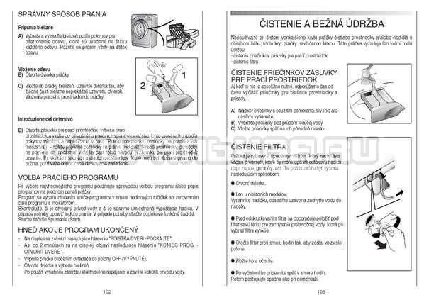 Инструкция Candy GO4 126/1TXT страница №52