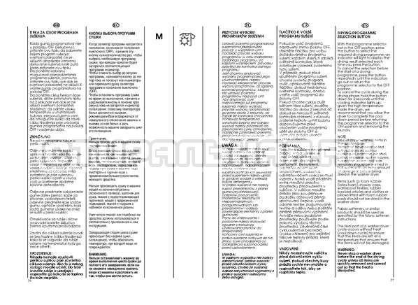 Инструкция Candy GO4 W264 страница №19