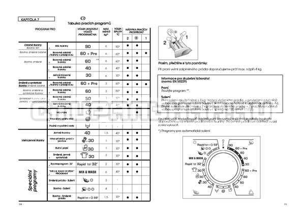 Инструкция Candy GO4 W264 страница №26
