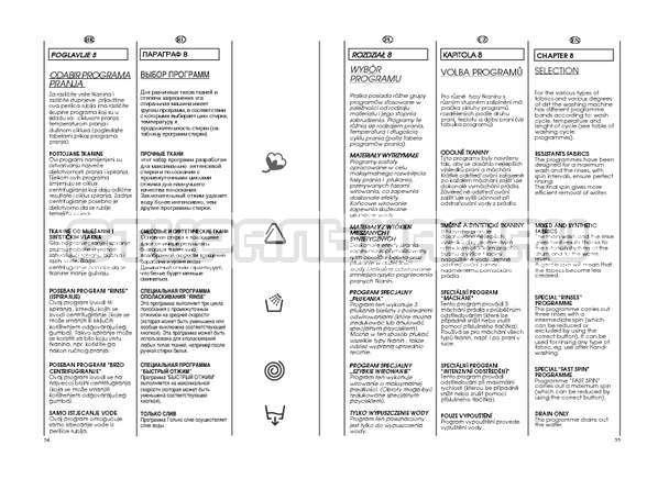 Инструкция Candy GO4 W264 страница №28