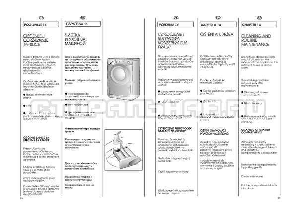 Инструкция Candy GO4 W264 страница №44