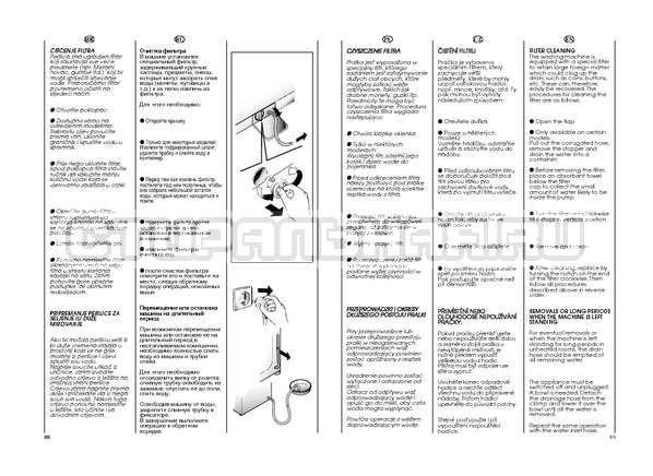Инструкция Candy GO4 W264 страница №45
