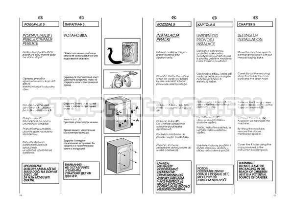 Инструкция Candy GO4 W264 страница №9