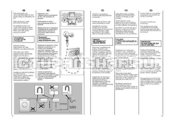Инструкция Candy GO4 W264 страница №10