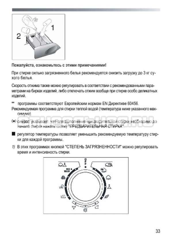Инструкция Candy GOY 105 TXT страница №33