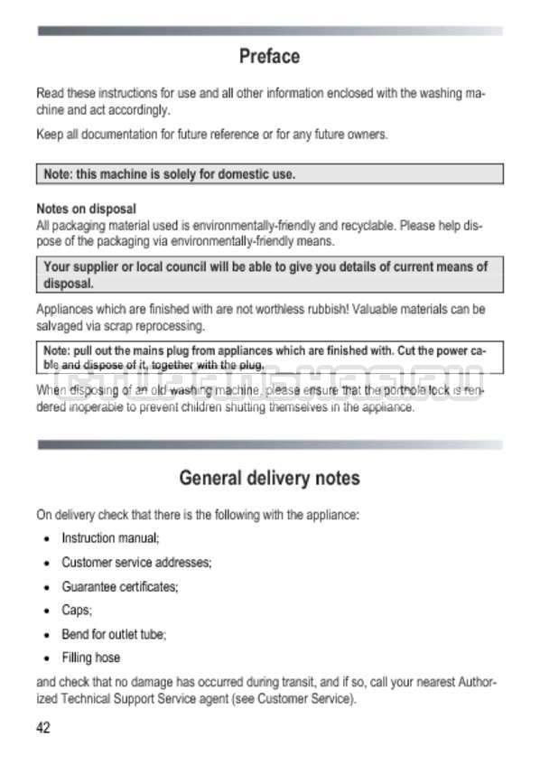 Инструкция Candy GOY 105 TXT страница №42