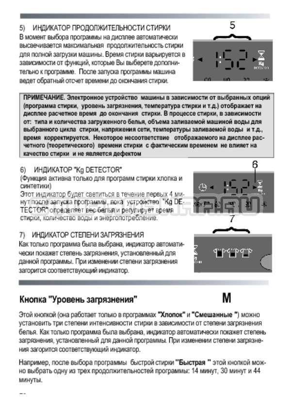 Инструкция Candy GOYE 105 3DS страница №20