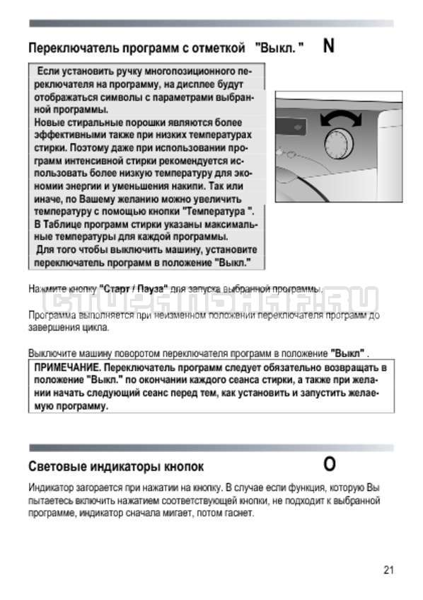 Инструкция Candy GOYE 105 3DS страница №21