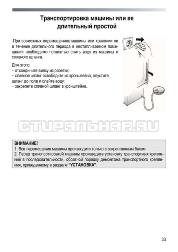 Инструкция Candy GOYE 105 3DS страница №33