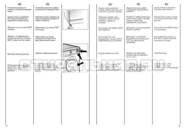 Инструкция Candy HOLIDAY 1002 TL страница №11