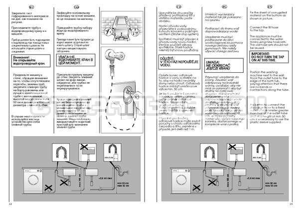 Инструкция Candy HOLIDAY 1002 TL страница №10