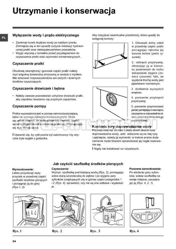 Инструкция Hotpoint-Ariston ARTXF 149 страница №34