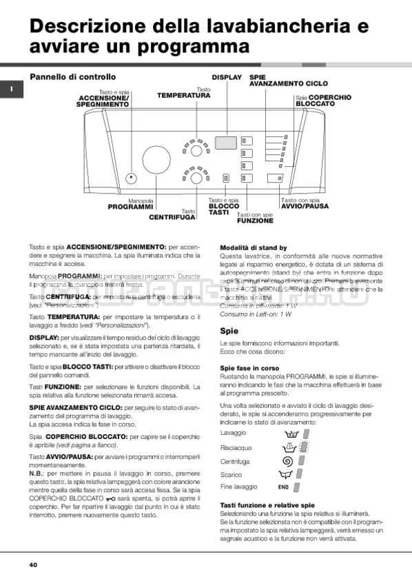 Инструкция Hotpoint-Ariston ARTXF 149 страница №40