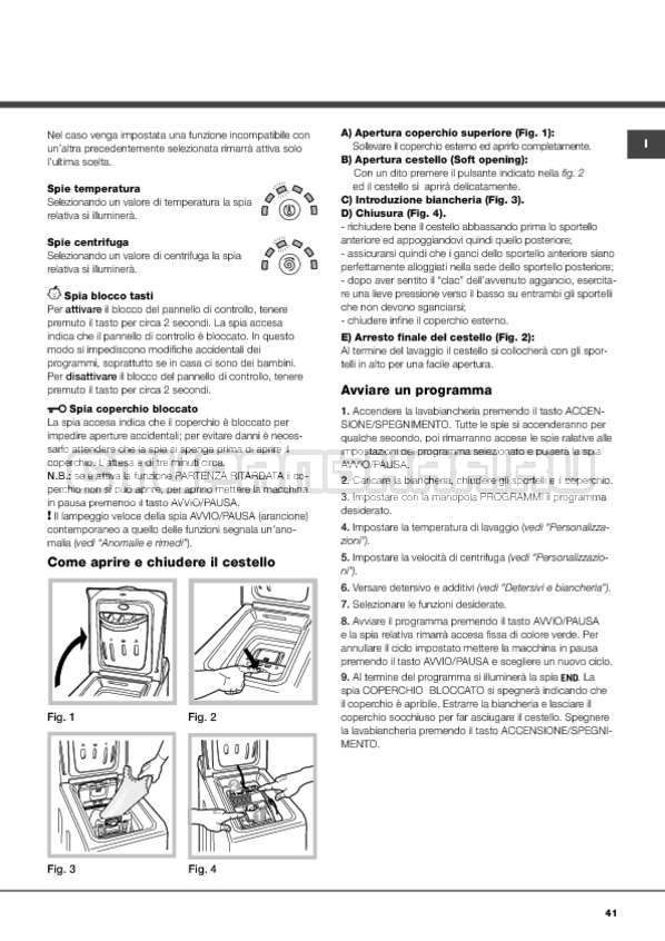 Инструкция Hotpoint-Ariston ARTXF 149 страница №41