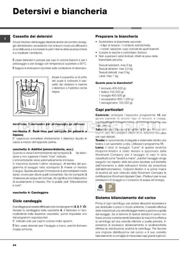 Инструкция Hotpoint-Ariston ARTXF 149 страница №44