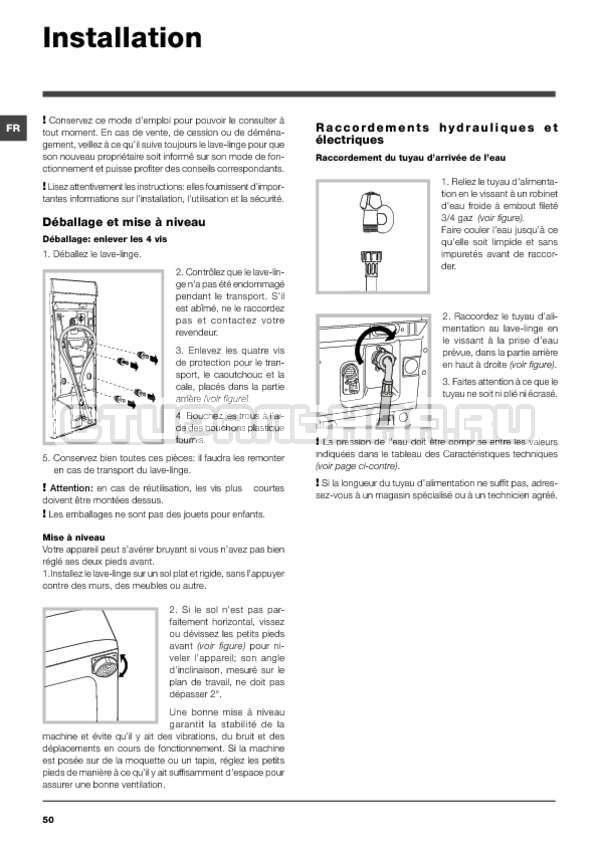 Инструкция Hotpoint-Ariston ARTXF 149 страница №50