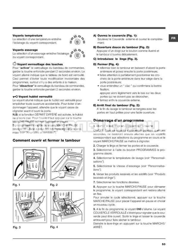 Инструкция Hotpoint-Ariston ARTXF 149 страница №53