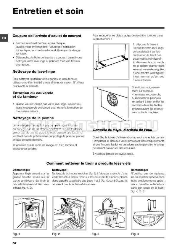 Инструкция Hotpoint-Ariston ARTXF 149 страница №58