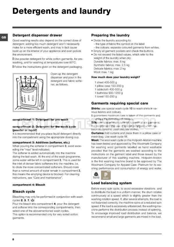Инструкция Hotpoint-Ariston ARTXF 149 страница №8