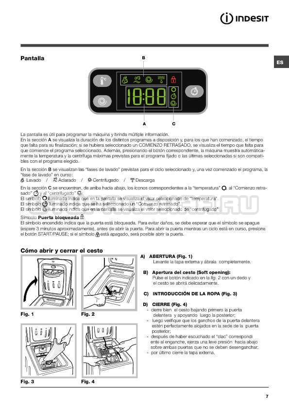 Инструкция Indesit IWTE 71280 ECO страница №7