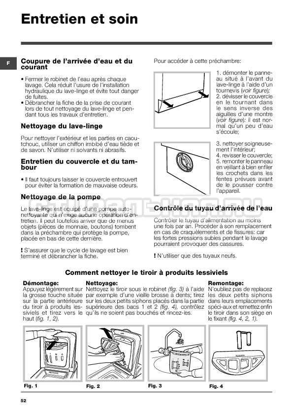 Инструкция Indesit WITXL 1051 страница №52