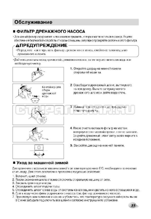 Инструкция LG F1296CDP3 страница №32