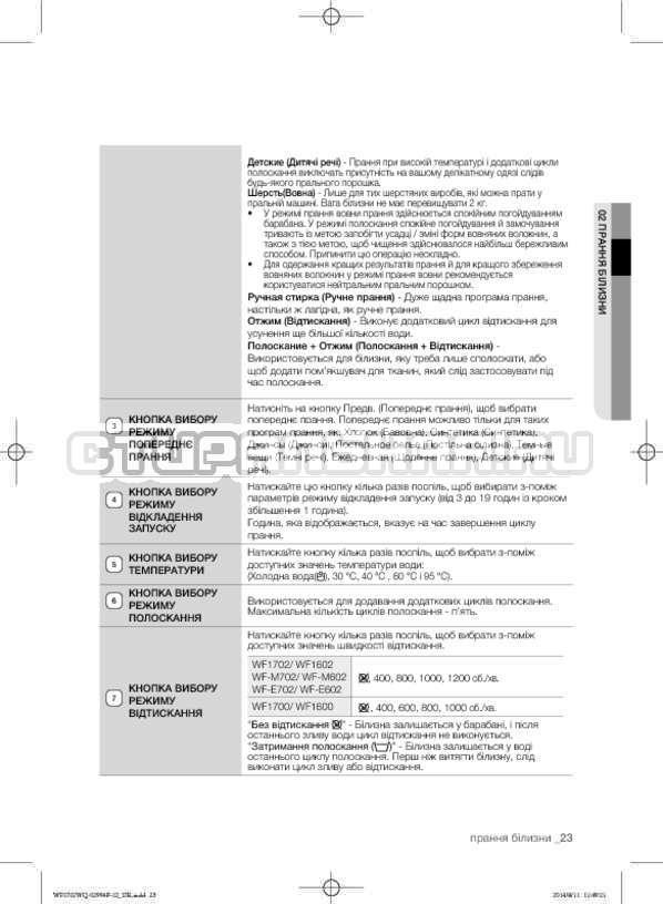 Инструкция Samsung Fuzzy Logic WF-E602YQR страница №67