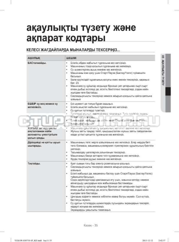 Инструкция Samsung WD1142XVR страница №123