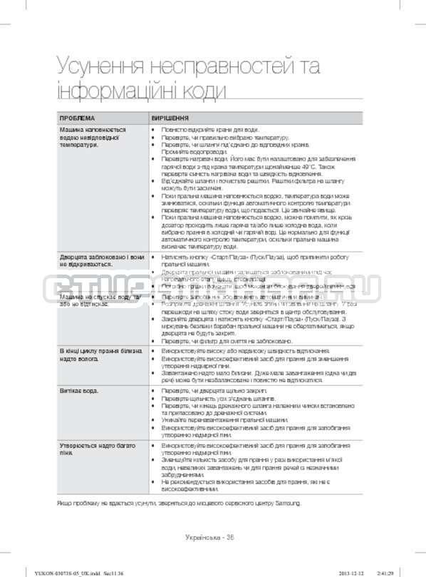 Инструкция Samsung WD1142XVR страница №80