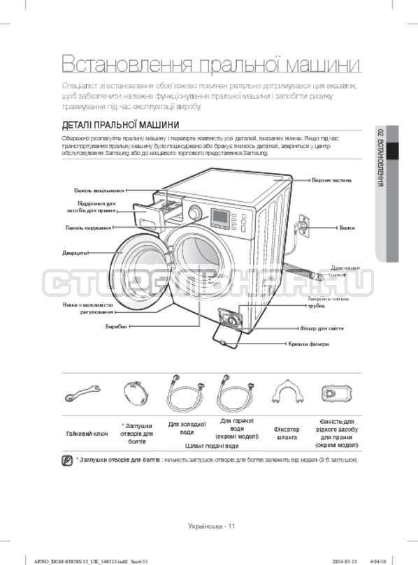 Инструкция Samsung WF-M124ZAU страница №59