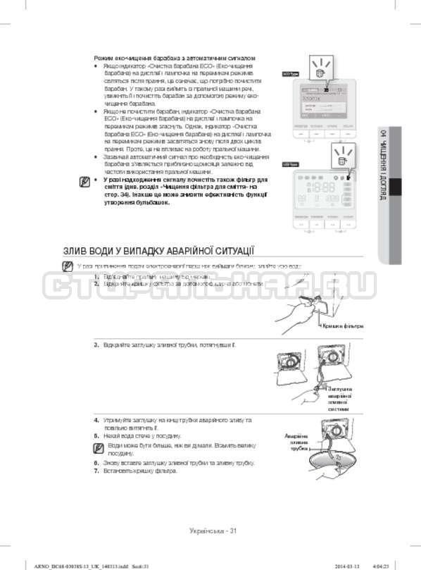 Инструкция Samsung WF-M124ZAU страница №79