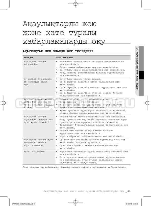 Инструкция Samsung WF0700NCW страница №113