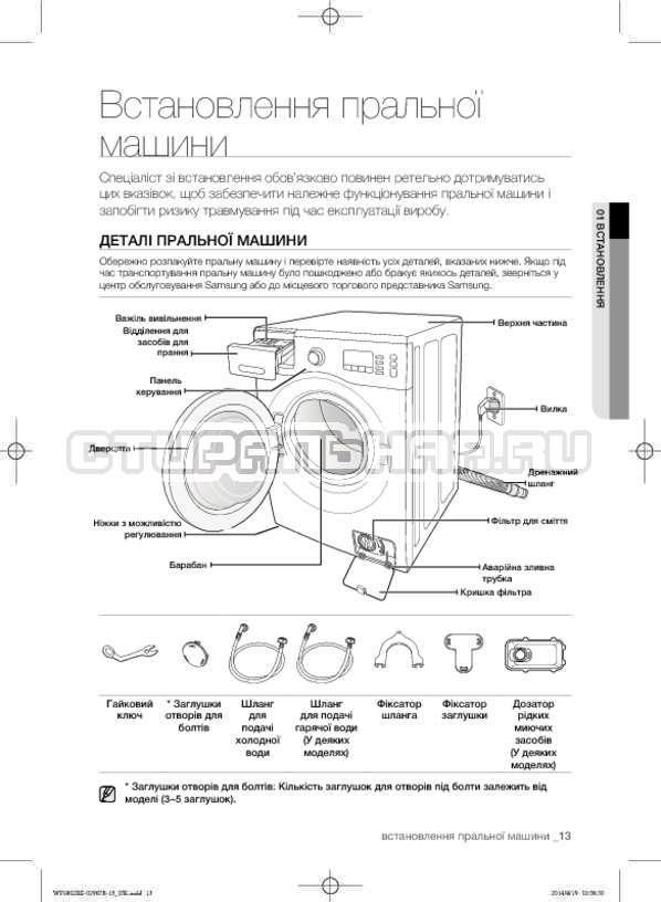 Инструкция Samsung WF1802XEC страница №57
