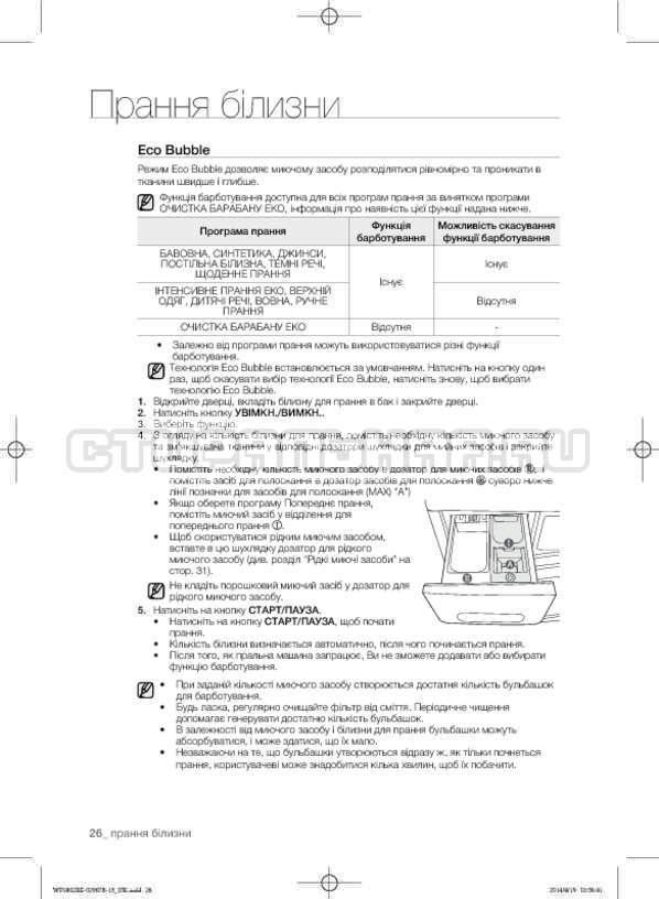 Инструкция Samsung WF1802XEC страница №70