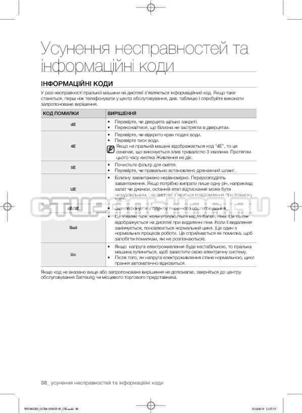 Инструкция Samsung WF1802XFK страница №82