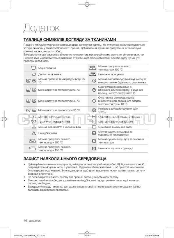 Инструкция Samsung WF1802XFK страница №84