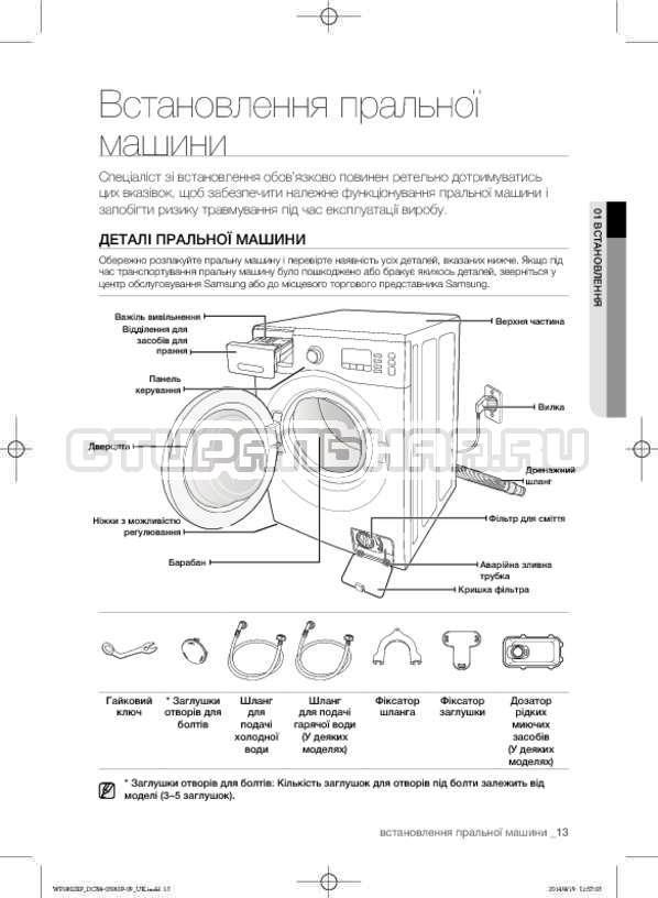Инструкция Samsung WF1802XFW страница №57