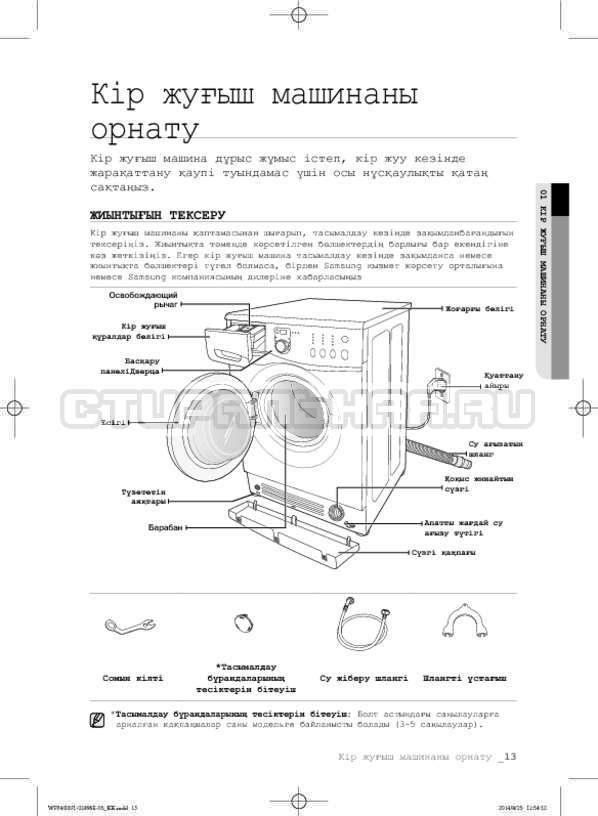 Инструкция Samsung WF3400N1V страница №93