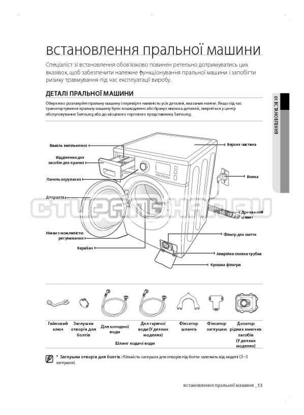 Инструкция Samsung WF600B0BCWQ страница №53
