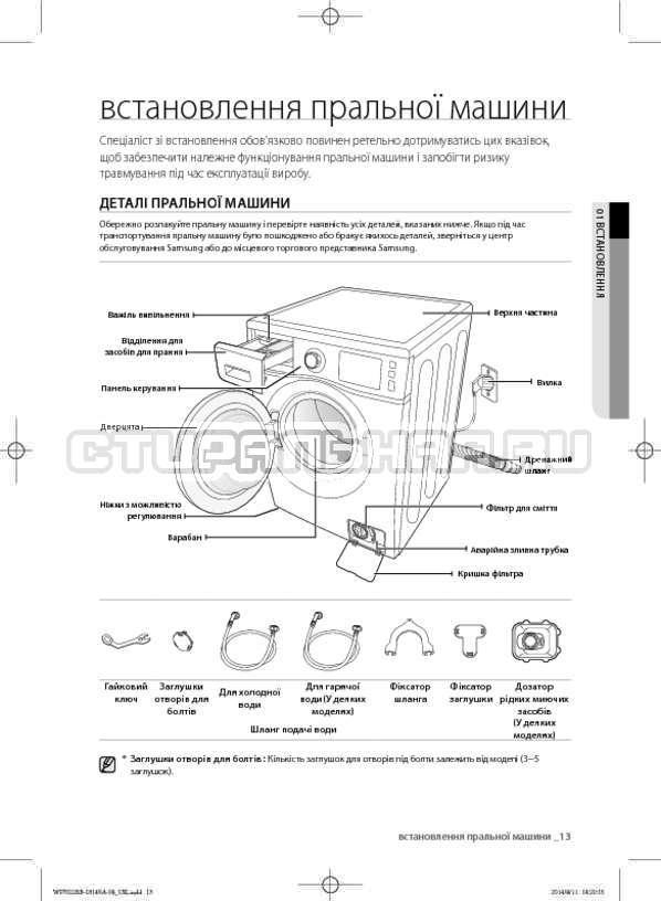 Инструкция Samsung WF602B2BKWQ страница №57