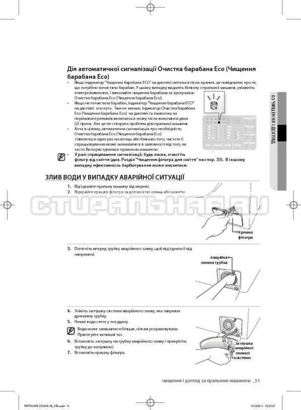 Инструкция Samsung WF602B2BKWQ страница №75