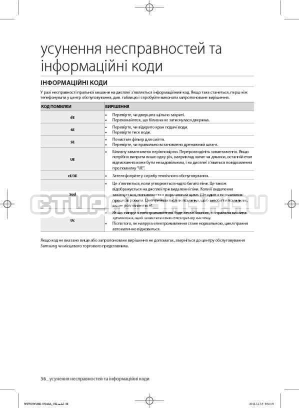 Инструкция Samsung WF602W2BKSD страница №82