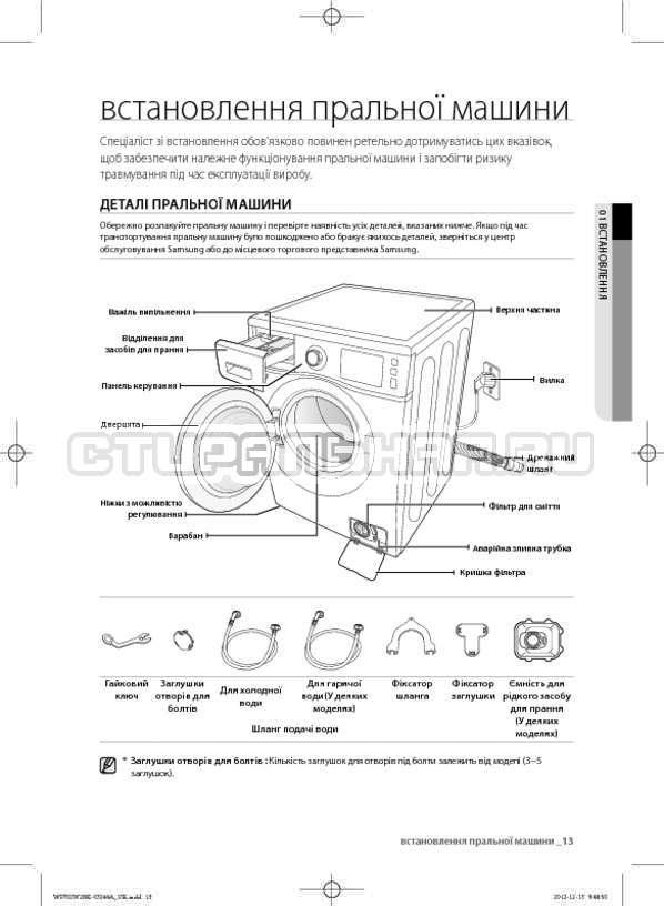 Инструкция Samsung WF602W2BKWQ страница №57