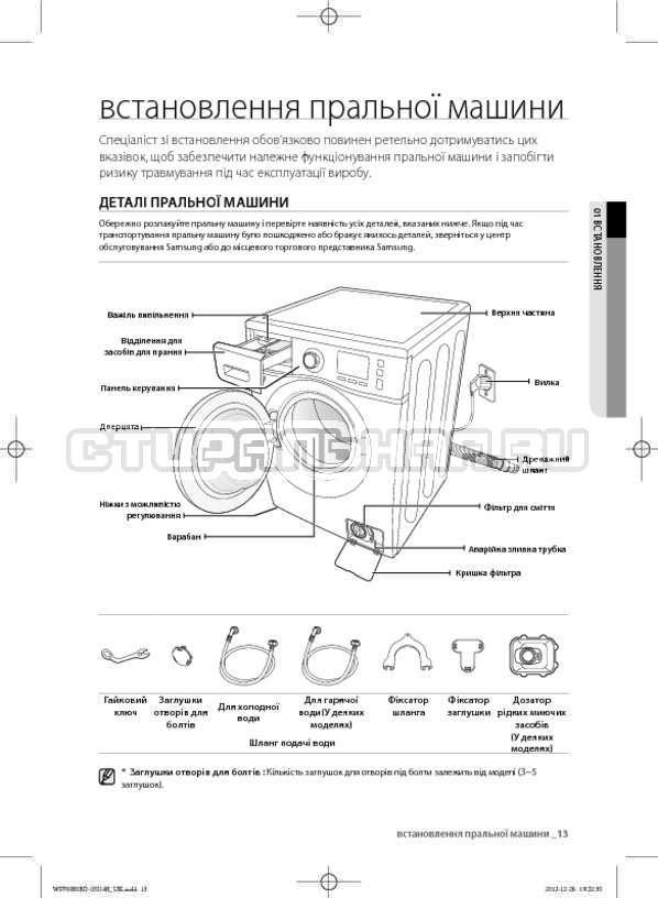 Инструкция Samsung WF700B0BDWQ страница №53