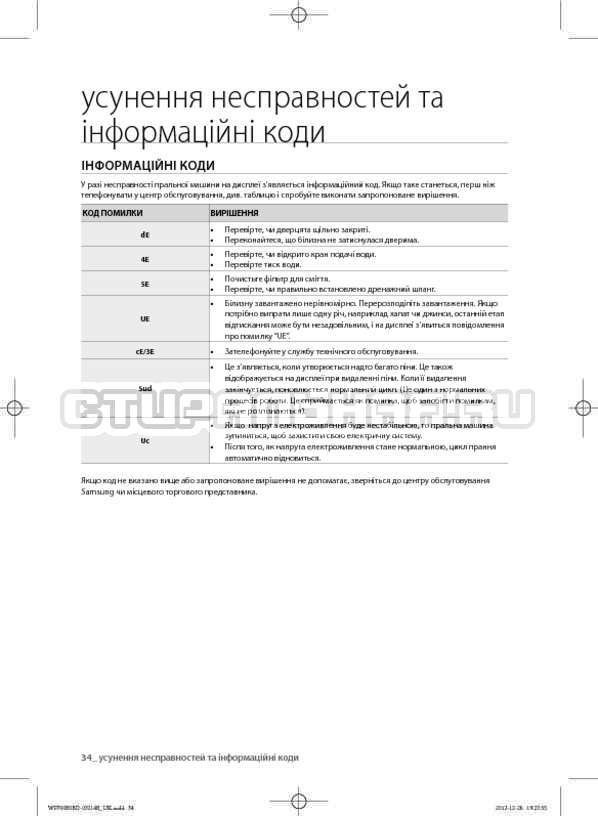 Инструкция Samsung WF700B0BDWQ страница №74