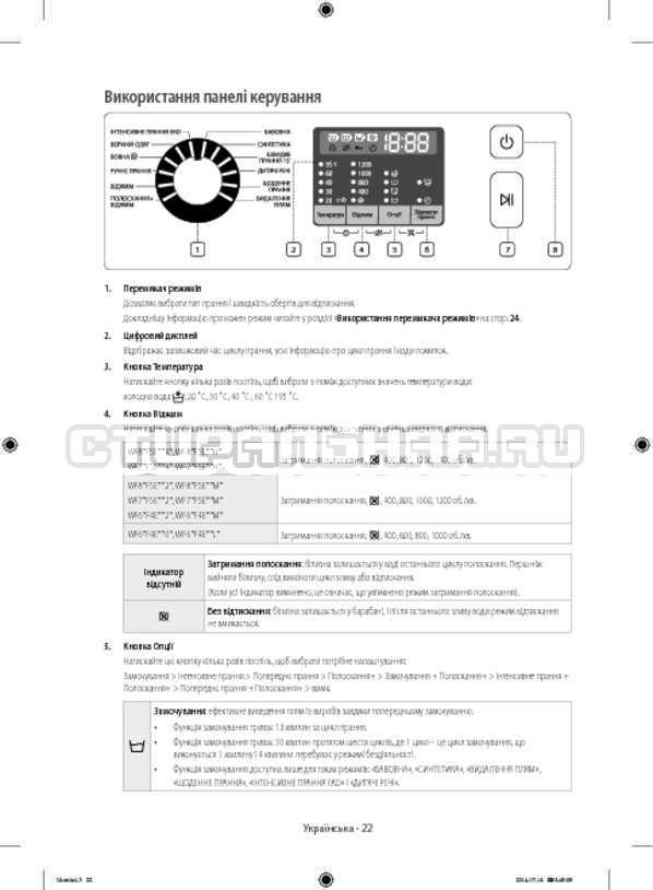 Инструкция Samsung WF80F5E2W4W/LP страница №66